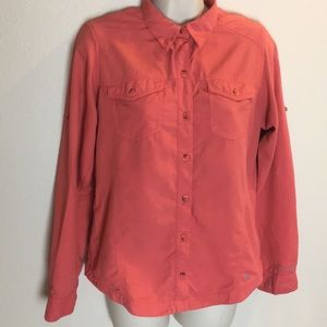Columbia Hiking Blouse with Insect Blocker S